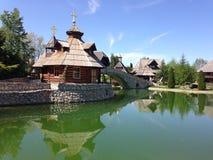 озеро церков стоковая фотография rf
