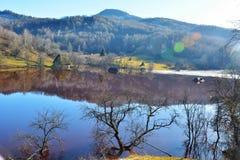 Озеро цианид на Geamana Румынии Стоковые Изображения