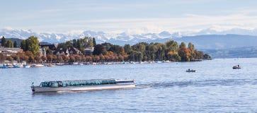 Озеро Цюрих Стоковая Фотография