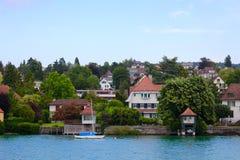 озеро Швейцария zurich стоковые фотографии rf