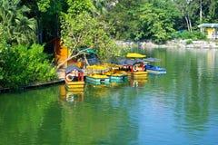 озеро шлюпки Стоковое Изображение RF