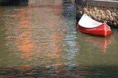 озеро шлюпки стоковое фото rf