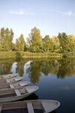 озеро шлюпок Стоковое Изображение RF