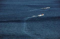 озеро шлюпок Стоковые Фото