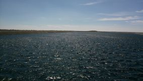 Озеро электростанции в чехии стоковое изображение rf