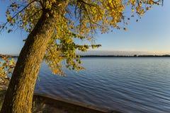 Озеро Эндрью в осени Стоковые Фото