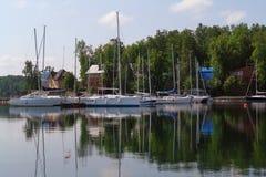 Озеро южное Ural золот Стоковое Фото