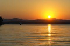 Озеро южное Ural золот Стоковое Изображение RF