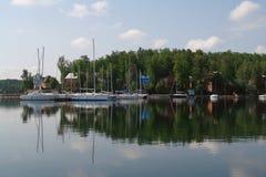 Озеро южное Ural золот Стоковая Фотография