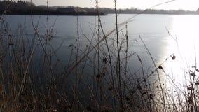 Озеро ямы гравия Стоковое Изображение RF