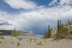 Озеро яшм, Канада Стоковое фото RF