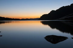 Озеро Стоковое Изображение