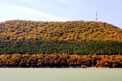 Озеро Abrau Стоковые Изображения RF