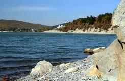 Озеро Abrau Стоковые Фото
