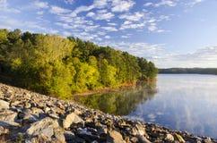 Озеро Allatoona Стоковая Фотография