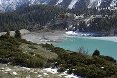 озеро almaty большое Стоковые Фотографии RF