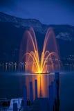 озеро annecy Стоковые Фото