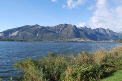 озеро annone стоковое изображение