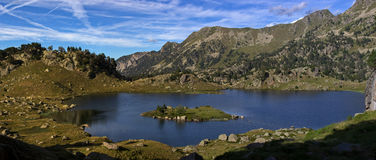 озеро aran d val Стоковая Фотография