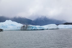 Озеро Argentino Стоковые Изображения RF