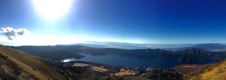 Озеро Ashinoko Япония Стоковое Изображение RF