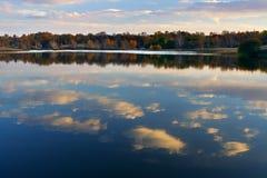 озеро autum Стоковые Фотографии RF