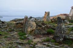 озеро baikal Область Иркутска стоковые фото