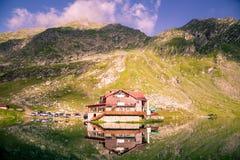 Озеро Balea Стоковая Фотография