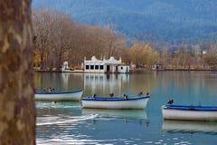 Озеро Banyoles стоковое изображение