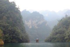 Озеро Bao Feng стоковое изображение
