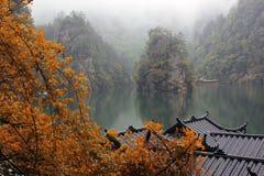 Озеро Baofen, Китай Стоковые Изображения RF