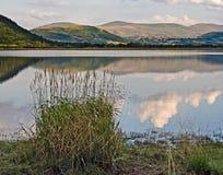 Озеро Bassenthwaite, Cumbria, Великобритания Стоковые Изображения RF