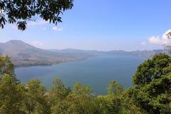 Озеро Batur - Бали, Индонезия Стоковые Фотографии RF