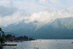 Озеро Batur, Бали, Индонесия стоковое фото rf