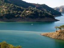 озеро berryessa Стоковая Фотография RF