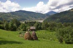 озеро bicaz стоковая фотография