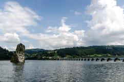 Озеро Bicaz Стоковые Фотографии RF