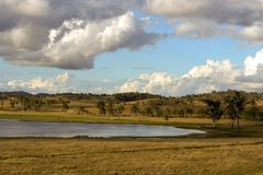 Озеро Billabong в Квинсленде стоковые изображения rf