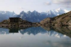 Озеро Blanc Стоковые Изображения RF