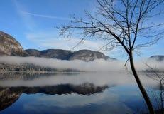 Озеро 01 Bohinj Стоковые Изображения RF