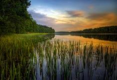 Озеро Bolesty Стоковые Изображения RF