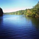 Озеро Bram, Armonk, NY Стоковые Изображения RF