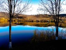Озеро Brateni стоковая фотография rf