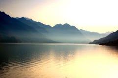 озеро brienz Стоковое фото RF