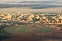 озеро california mono Стоковые Изображения