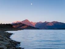 озеро campotosto Стоковое фото RF