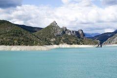 Озеро Castillon, Франции стоковое изображение rf