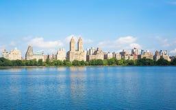 Озеро Central Park Стоковое Изображение RF