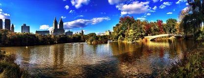 Озеро Central Park Стоковое фото RF