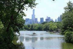 Озеро Central Park стоковые изображения rf